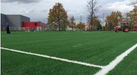Sztuczne boisko treningowe z Budżetu Obywatelskiego już na ukończeniu...