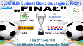 "FINAŁ ""DECATHLON Business Champions League""... puchar już czeka :-)"