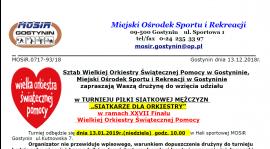 Turniej siatkówki z okazji XXVII Finału WOŚP