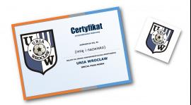 certyfikat + magnes