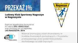 1% dla LKS Nagoszyn