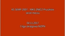 Skrót meczu SEMP Warszawa vs Znicz Pruszków 2:5
