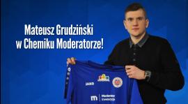 Mateusz Grudziński piłkarzem Chemika Moderatora