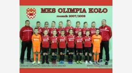 Młodziki Młodsze MKS Olimpii Koło nominowane do Drużyny Roku