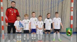 Zakończenie rozgrywek Brzeskiej Ligi Halowej - skrzaty