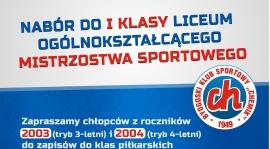 Nabór do klas pierwszych w XI LO Mistrzostwa Sportowego