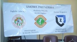 Zawisza Bydgoszcz partnerem ekstraklasowego Zagłębia Lubin!