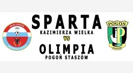 Sparta zagra z Pogonią Staszów