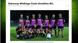 VIDEO - Dekoracja Wielki Finał DECATHLON BCL 2017