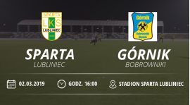 "Sparing LKS ""Sparta"" Lubliniec vs Górnik Bobrowniki"