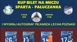 Sparta - Pałuczanka w sobotę w Janowcu!