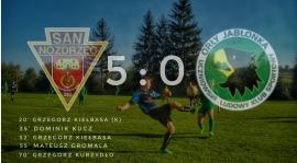 Orły nie umieją polować w Sanie... Pewne zwycięstwo z Jabłonką 5:0