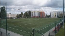 Mecz z Kujawiakiem Kowal na boisku ze sztuczną nawierzchnią