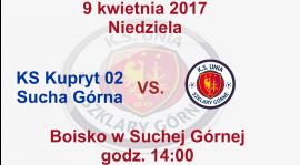 Mecz o mistrzostwo klasy B grupy 2 przeciwko drużynie Kupryt 02 Sucha Górna