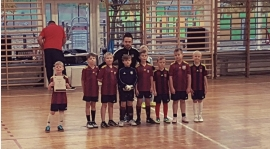 Rocznik 2011 na turnieju w Gdyni.