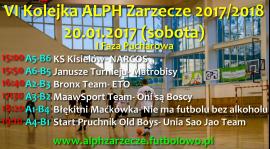 I Faza Pucharowa w VI Kolejce ALPH Zarzecze