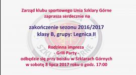 Zakończenie sezonu 2016/2017