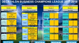 "2 runda ""DECATHLON Business Champions League 2017-2018"" ustalona :-)"