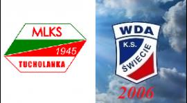 """Liga okręgowa młodzika 6 kolekja """"Tucholanka"""" Tuchola - K.S. WDA Świecie 2006 1:1"""