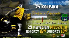 Zapowiedź 24 Kolejki: LZS Zdziary - Bukowa Jastkowice.