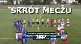 VIDEO: Skrót meczu Orlęta 3:0 Unia Solec Kujawski