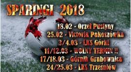 Sparingi 2018 !! - Dokładne info w rozwinięciu...!!