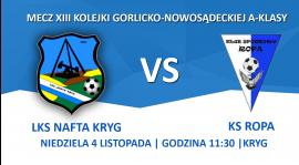 Piłkarska jesień zakończy się na stadionie... w Krygu!