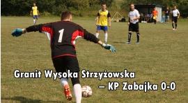 Wysoka Strzyżowska – KP Zabajka 0-0