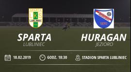 "Sparing  LKS ""Sparta"" Lubliniec vs Huragan Jezioro"