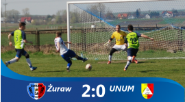 Żuraw 2-0 UNUM