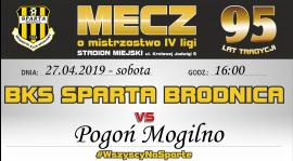 24. kolejka: Sparta vs. Pogoń Mogilno