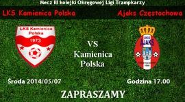 Liga Trampkarzy: Kamienica Polska - Ajaks Częstochowa