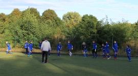 Sparing z Łódzką Akademią Futbolu