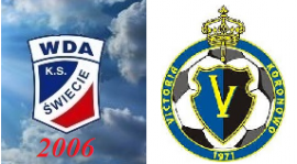 Liga okręgowa młodzika 4 kolekja WDA Świecie 2006 - Victoria Koronowo 4:0