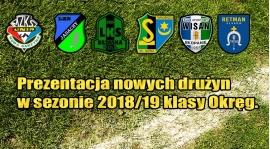 Nowe drużyny w sezonie 2018/19