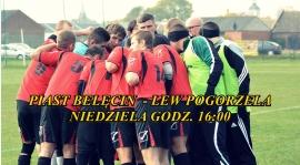 Mecz wyjazdowy z Piastem Belęcin