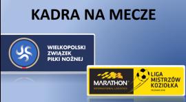 Kadra na mecze lig Koziołka i WZPN - 9/10 czerwca 2018 r.