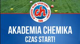 Akademia Piłkarska Chemika. Ruszamy!