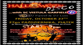 Halloween Disco with SC Vistula !