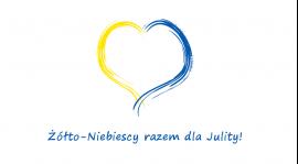 Żółto-Niebiescy razem dla Julity!