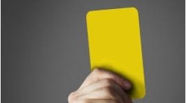 Komunikat Komisji Dyscyplinarnej po V Kolejce Żuławskiej Halowej Ligi Piłki Nożnej