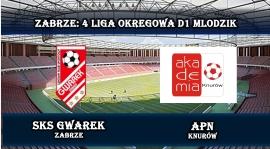 IV LMD1 I SKS Gwarek Zabrze - APN Knurów 6-1