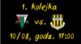 1. kolejka: Legia Chełmża vs. Sparta