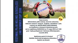 Turniej rocznika 2010 - Niedziela 27 maja 2018 godz.9.00- zapraszamy!