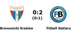 B klasa gr. II: Bronowicki Kraków - Fitball Szklary 0:2