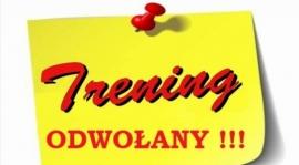 Trening Młodzika 2004/2005 w dniu 02.02.2018 jest ODWOŁANY !!!