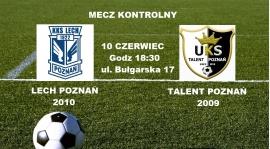 Dzisiaj mecz z Lechem Poznań rocznik 2009