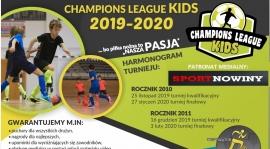 """""""Champions League KIDS 2019-2020""""  - zaproszenie"""