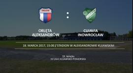 Inauguracja rundy wiosennej. Orlęta grają z Cuiavią Inowrocław