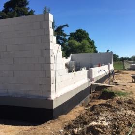 Budowa budynku klubowego - maj 2017